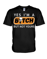 NOT YOURS V-Neck T-Shirt thumbnail