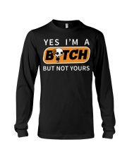 NOT YOURS Long Sleeve Tee thumbnail