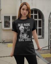Love cats 1 Classic T-Shirt apparel-classic-tshirt-lifestyle-19