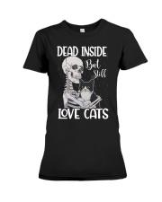 Love cats 1 Premium Fit Ladies Tee thumbnail