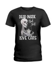 Love cats 1 Ladies T-Shirt thumbnail
