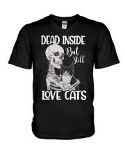 Love cats 1 V-Neck T-Shirt thumbnail
