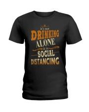 SOCIAL DISTANCING Ladies T-Shirt thumbnail