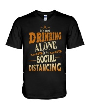 SOCIAL DISTANCING V-Neck T-Shirt thumbnail
