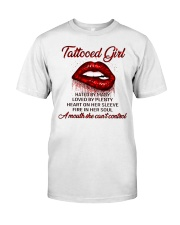 TATTOO GIRLS T-SHIRT Classic T-Shirt front