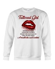 TATTOO GIRLS T-SHIRT Crewneck Sweatshirt thumbnail