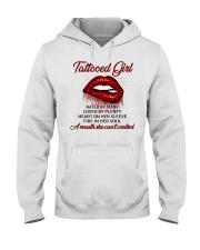 TATTOO GIRLS T-SHIRT Hooded Sweatshirt thumbnail