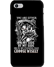 CHOOSE WISELY Phone Case thumbnail