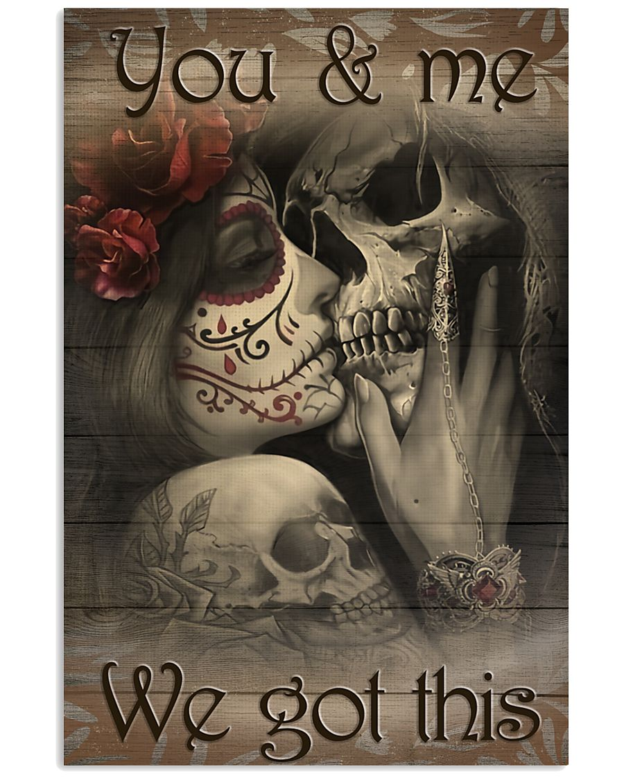 YOU and ME 16x24 Poster
