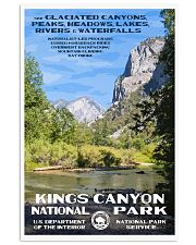 KINGS CANYON 11x17 Poster front