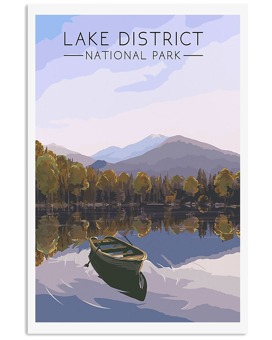 LAKE DISTRICT 24x36 Poster