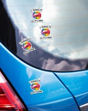 LOVE IS LOVE 9 Sticker - 4 pack (Vertical) aos-sticker-4-pack-vertical-lifestyle-front-26