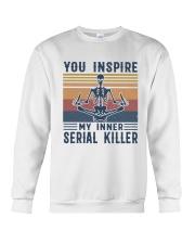 YOU INSPIRE Crewneck Sweatshirt thumbnail