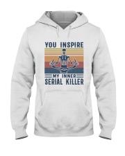 YOU INSPIRE Hooded Sweatshirt thumbnail