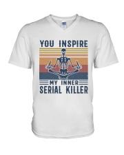 YOU INSPIRE V-Neck T-Shirt thumbnail