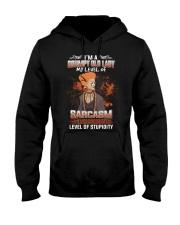 LEVEL OF STUPIDITY Hooded Sweatshirt thumbnail