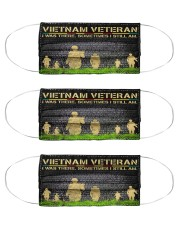 Vietnam Veteran 3 Cloth Face Mask - 3 Pack front