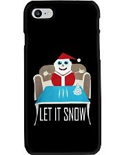 BLUE LET IT SNOW SWEATER Phone Case thumbnail