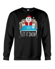BLUE LET IT SNOW SWEATER Crewneck Sweatshirt tile