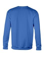 BLUE LET IT SNOW SWEATER Crewneck Sweatshirt back