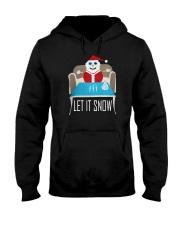 BLUE LET IT SNOW SWEATER Hooded Sweatshirt thumbnail