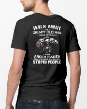 WALK AWAY STUPID PEOPLE Classic T-Shirt lifestyle-mens-crewneck-back-5