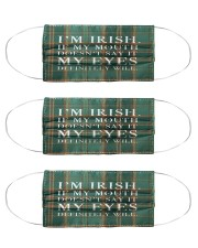 Irish Blood 3 Cloth Face Mask - 3 Pack front