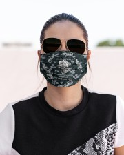 Skull - Floral - 3 Cloth face mask aos-face-mask-lifestyle-02