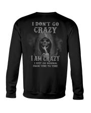 I DON'T GO CRAZY Crewneck Sweatshirt thumbnail