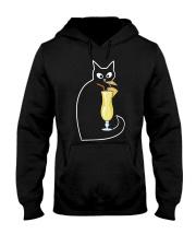 PINA COLADA COCKTAIL CAT Hooded Sweatshirt thumbnail