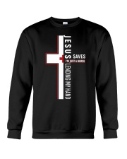 JESUS SAVES Crewneck Sweatshirt thumbnail