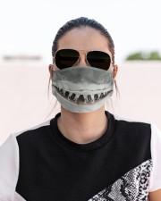 Shark Lovers 1 Cloth face mask aos-face-mask-lifestyle-02
