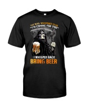THE DEVIL BRING BEER T-SHIRT Classic T-Shirt front