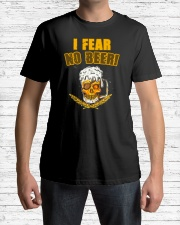 I FEAR NO BEER Classic T-Shirt lifestyle-mens-crewneck-front-1