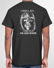 Old man skull Classic T-Shirt garment-tshirt-unisex-back-04