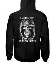 Old man skull Hooded Sweatshirt thumbnail