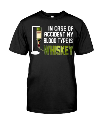 Irish whiskey blood