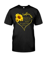 SUNFLOWER MOM Classic T-Shirt front