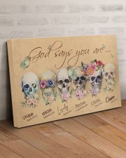 SKULL GOD SAYS YOU ARE 30x20 Gallery Wrapped Canvas Prints aos-canvas-pgw-30x20-lifestyle-front-07