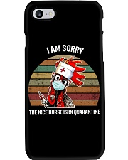 NICE NURSE T-SHIRT Phone Case thumbnail