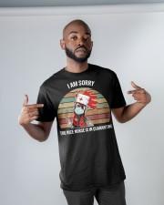 NICE NURSE T-SHIRT Classic T-Shirt apparel-classic-tshirt-lifestyle-front-32