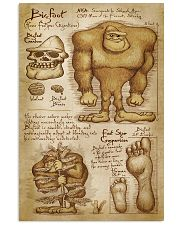 BIGFOOT - FOOT SIZE COMPARISON 11x17 Poster front