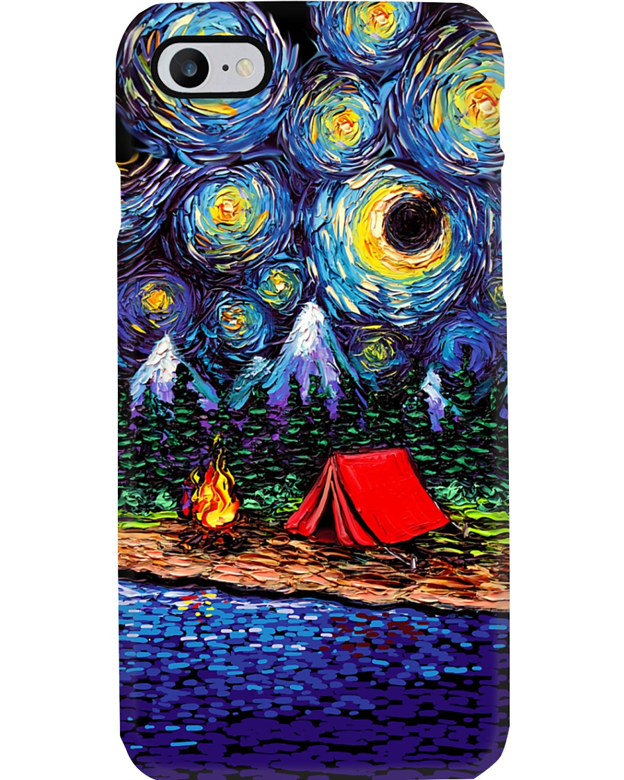 STARRY CASE FOR CAMPING LOVERS Phone Case