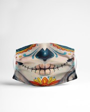 DAY OF THE DEAD 2 Cloth face mask aos-face-mask-lifestyle-22