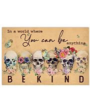 BE KIND 24x16 Poster front