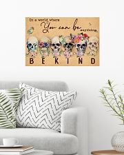 BE KIND 24x16 Poster poster-landscape-24x16-lifestyle-01