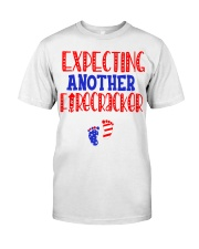 EXPECTING ANOTHER FIRECRACKER Classic T-Shirt front