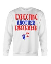 EXPECTING ANOTHER FIRECRACKER Crewneck Sweatshirt thumbnail