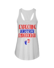 EXPECTING ANOTHER FIRECRACKER Ladies Flowy Tank thumbnail