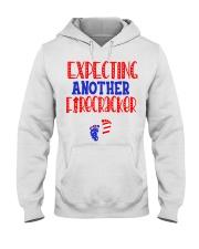 EXPECTING ANOTHER FIRECRACKER Hooded Sweatshirt thumbnail